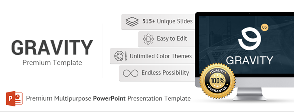 Gravity PowerPoint Presentation Template - 16
