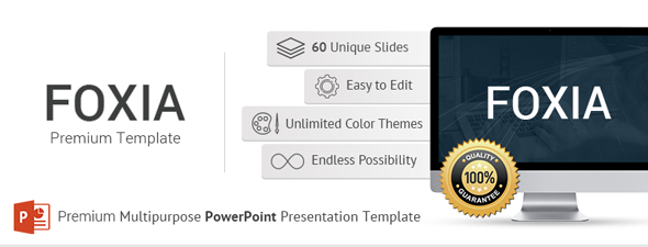 - foxia - iTrue Premium PowerPoint Presentation Template