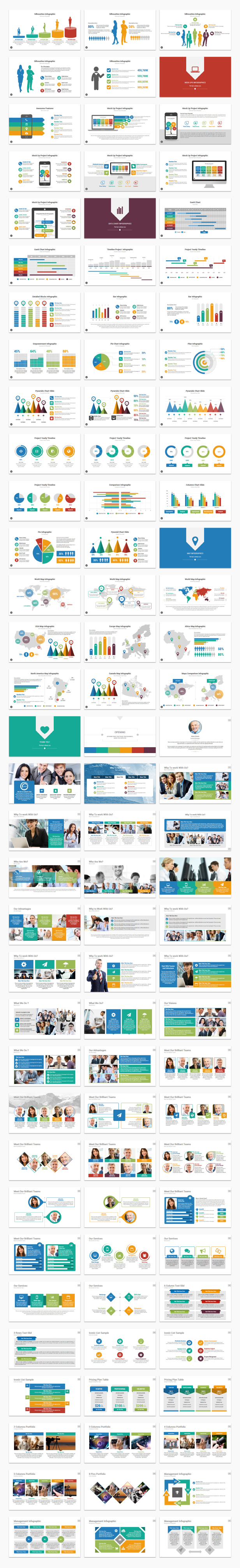 2 In 1 Multix Top Complete Business Solutions Keynote Presentation Templates Bundle - 3