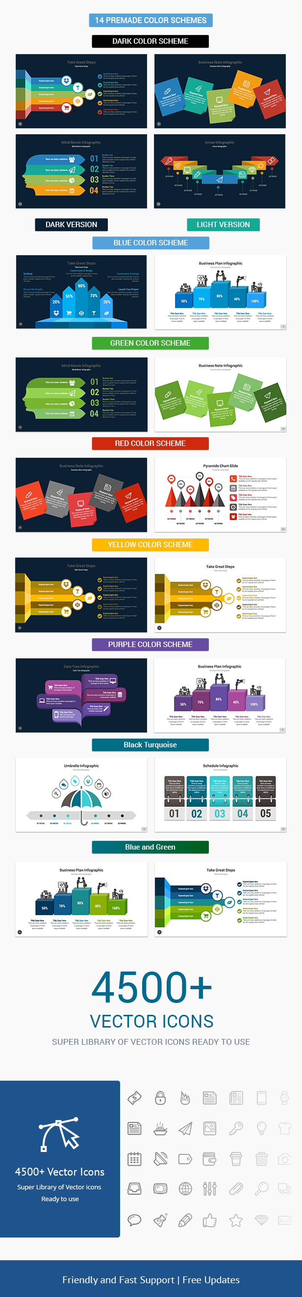 2 In 1 Multix Top Complete Business Solutions Keynote Presentation Templates Bundle - 5