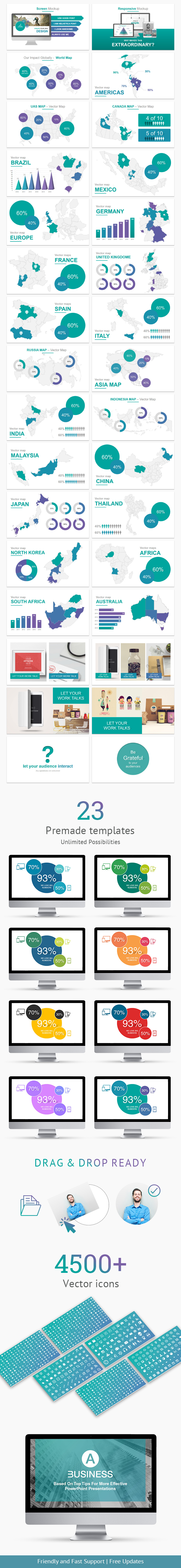A Business - Multipurpose PowerPoint Presentation Template - 1